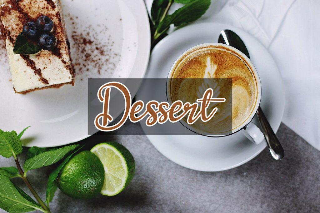 catégorie site de cuisine dessert pâtisserie, 4 épices