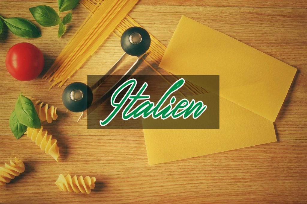 catégorie blog de cuisine italienne, 4 épices