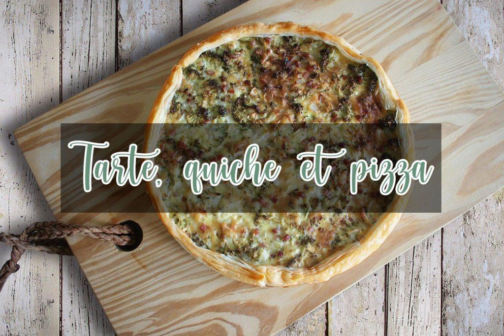 catégorie blog de cuisine tarte quiche et pizza, 4 épices