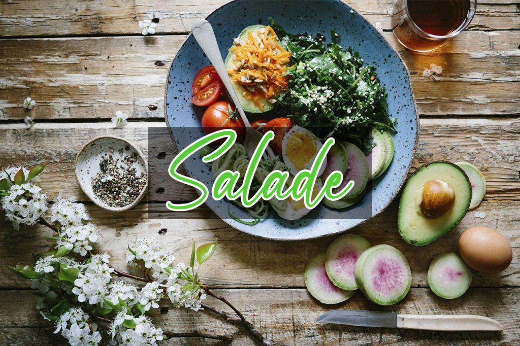 catégorie site de cuisine salade, 4 épices
